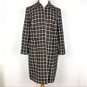 Amanda Smith Woman Suits   Houndstooth Overcoat